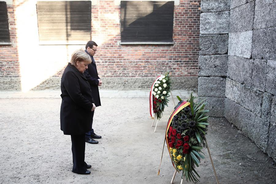 Avergüenza a Merkel lo sucedido en Auschwitz Global Dic 6 , 2019