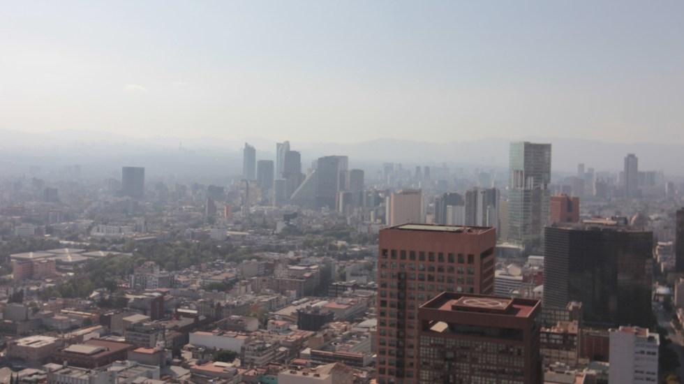Suspenden medidas regionales por contingencia ambiental - Ciudad de México con altos niveles de contaminación. Foto de NOTIMEX/FOTO/SUSANA GIL/SGV/ENV.