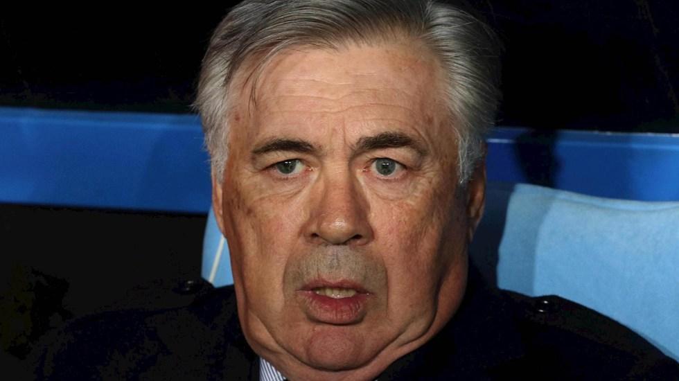 Nápoles cesa al técnico Carlo Ancelotti - Carlo Ancelotti Nápoles técnico