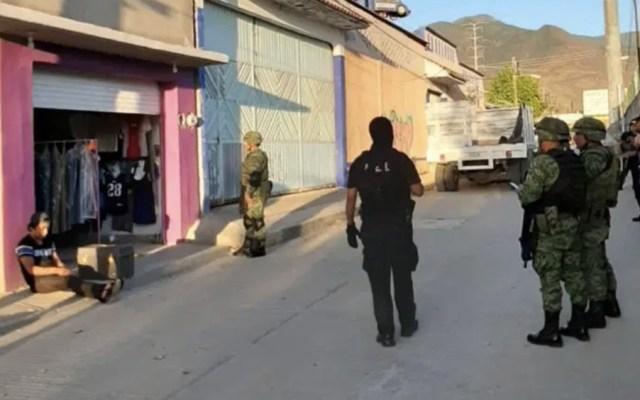 Aseguran droga y dinero tras cateos en Pueblo Nuevo, Oaxaca - Foto de La Onda Oaxaca