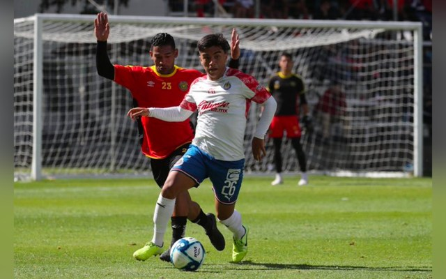 Guadalajara vence a Leones Negros en partido amistoso de pretemporada - Guadalajara vencen a Leones Negros en partido amistoso de pretemporada