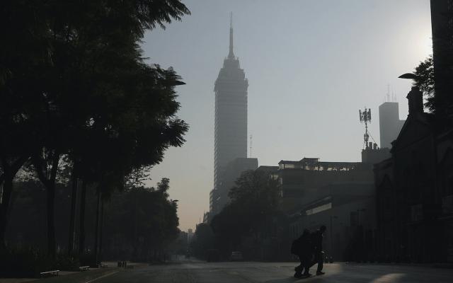 Mantienen medidas regionales por mala calidad del aire en el Valle de México - Foto de Notimex