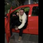 #Video Conductor golpea a mujer tras reclamo en Polanco