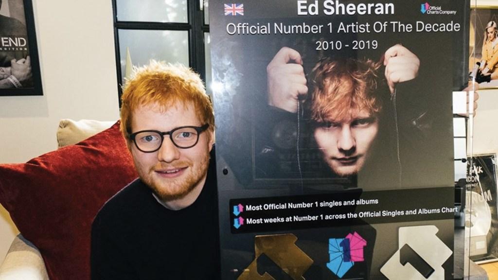 Ed Sheeran se convierte en el artista de la década en Reino Unido - Foto de Facebook Ed Sheeran