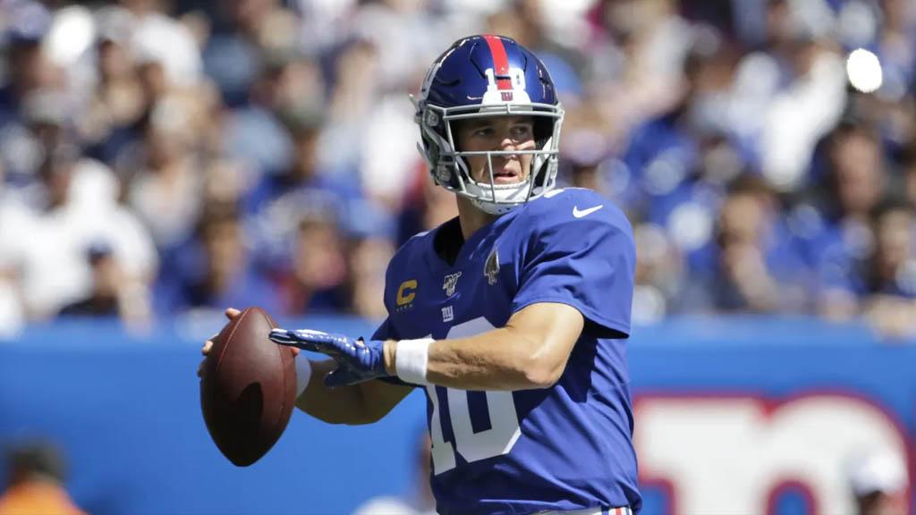 Eli Manning descarta convertirse en entrenador de la NFL - Eli Manning NY Giants