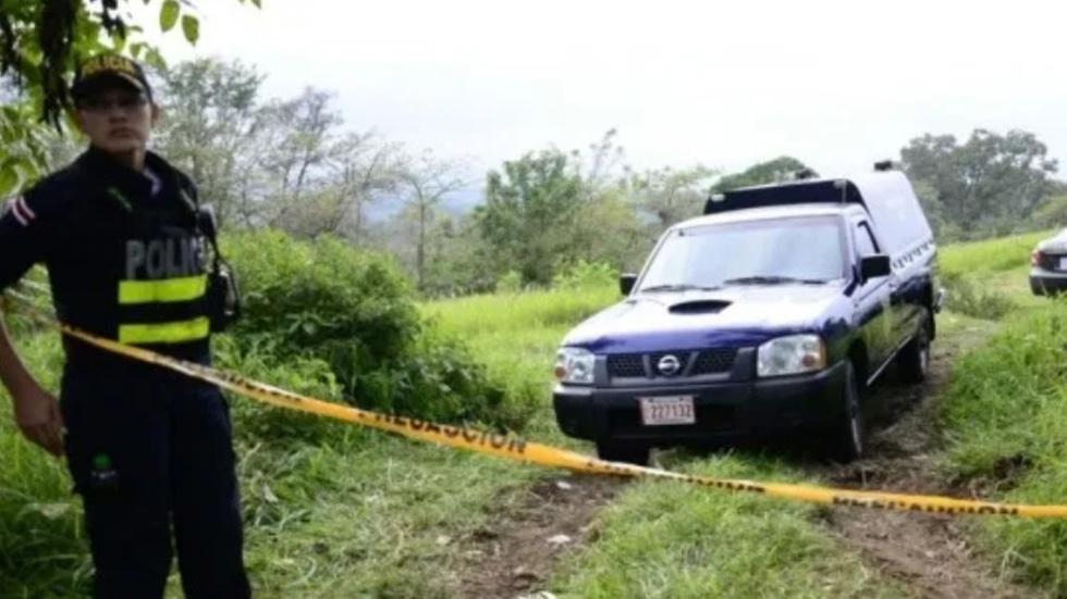 Joven de 21 años asesina a su novia de 14 y luego se suicida - Escena del crimen de Costa Rica. Foto de AM Prensa