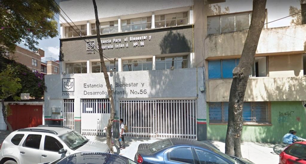 Desalojan estancia infantil por fuga de gas en Santa María la Ribera - Desalojan estancia infantil por fuga de gas