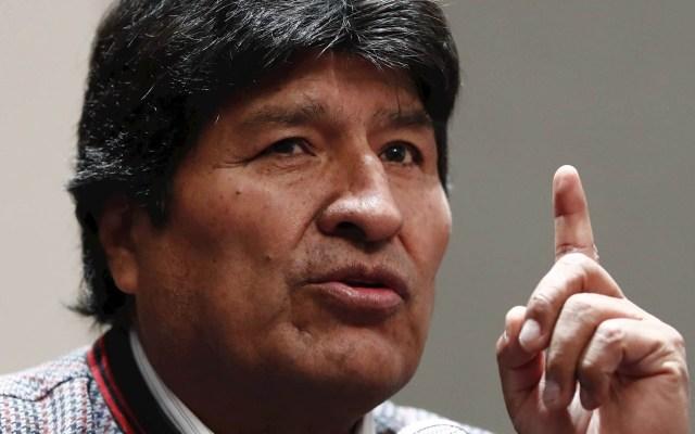 Evo Morales cumple un mes en Argentina con intensa agenda política - El expresidente de Bolivia Evo Morales. Foto de EFE/José Méndez/Archivo