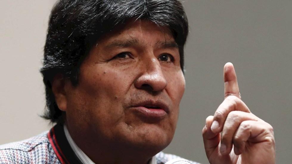 """Evo Morales salió de México; SRE precisa que es """"un viaje temporal"""" - El expresidente de Bolivia Evo Morales. Foto de EFE/José Méndez/Archivo"""