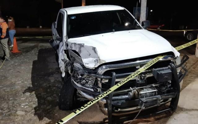 Investigan implicación de agente de Fiscalía de Jalisco en accidente donde murió una mujer - Fiscalía del Estado de Jalisco accidente oficial