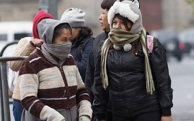 Alerta Amarilla por bajas temperaturas en seis alcaldías de la Ciudad de México - Foto de Notimex