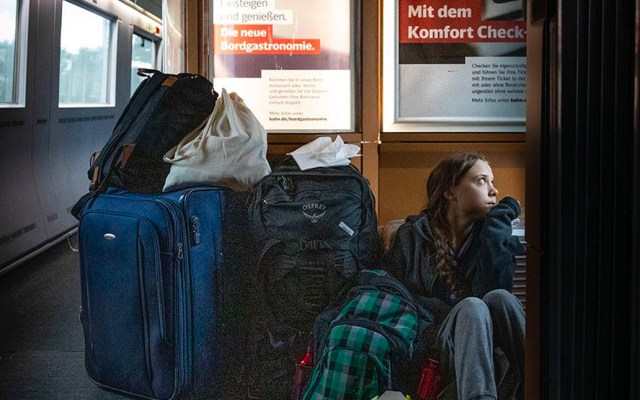 """Greta Thunberg lamenta mayor interés en su viaje en tren que """"fracaso"""" de la COP25 - Foto de Greta Thunberg"""