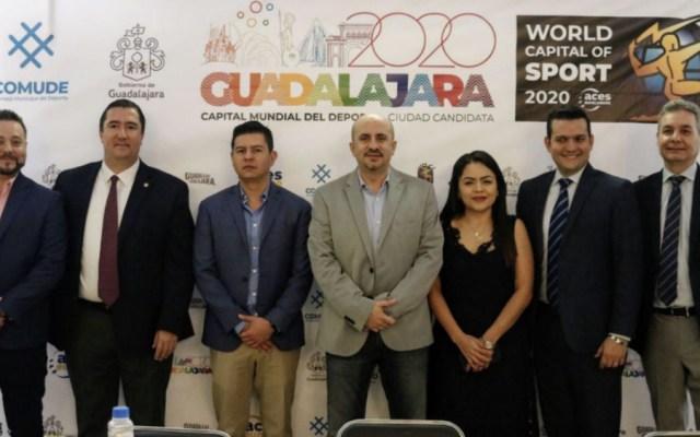 Guadalajara es nombrada Capital Mundial del Deporte 2020 - Foto de @GuadalajaraGob