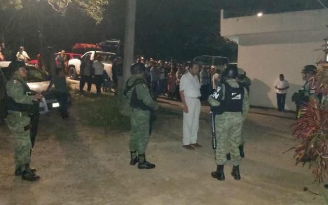 Liberan a elementos de la Guardia Nacional en Guerrero - Foto de Vocero Roberto Álvarez Heredia