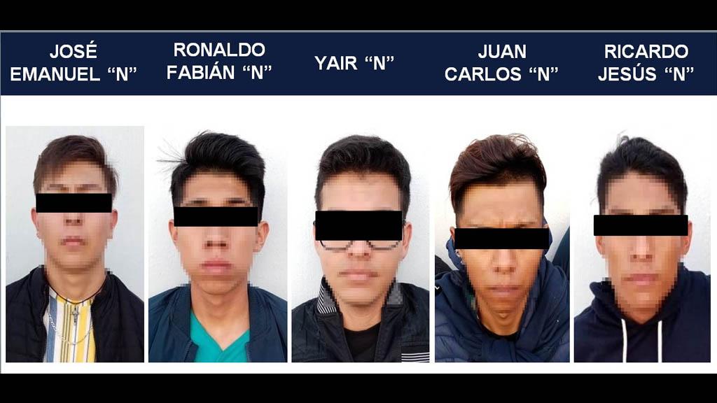 Jalisco Guadalajara motel detenidos