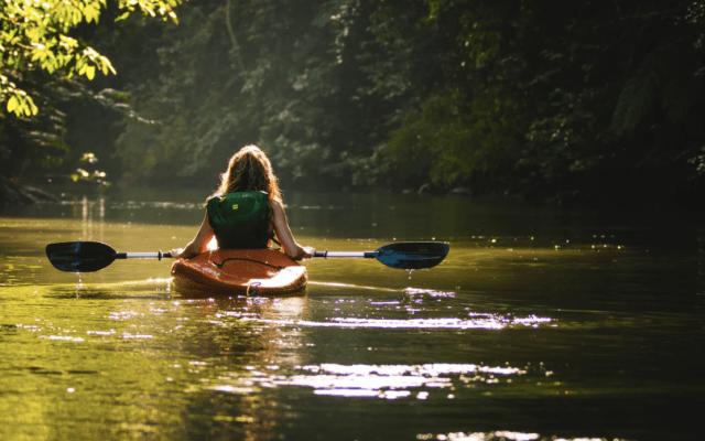Ofrecen viajes gratis en kayak a cambio de recoger basura - Foto de Filip Mroz @mroz