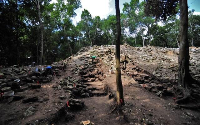 Confirman existencia de un palacio en la zona arqueológica de Kulubá - Kulubá Yucatán INAH México zona arqueológica