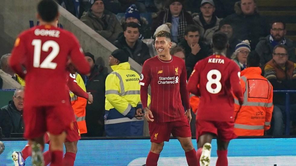 Liverpool regresa a la Premier con goleada al Leicester - Liverpool Leicester partido premier 2
