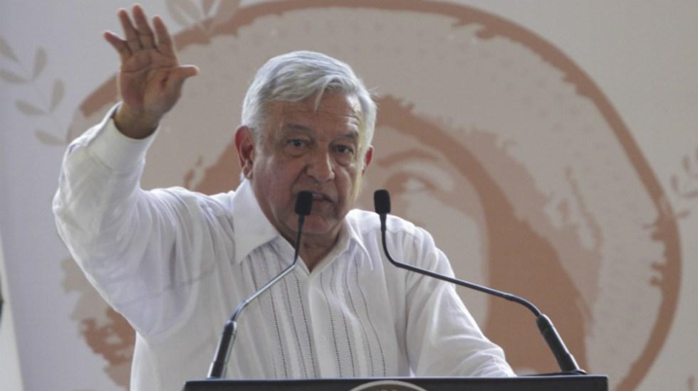 Gobierno no será aliado del crimen organizado: López Obrador - Foto de Notimex