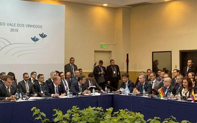 Macri insta a Mercosur a redoblar democracia y diálogo en la región - Macri insta a Mercosur a redoblar democracia y diálogo