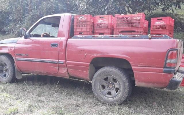 Detienen a nueve en posesión de media tonelada de aguacate ilegal - Foto de @MICHOACANSSP