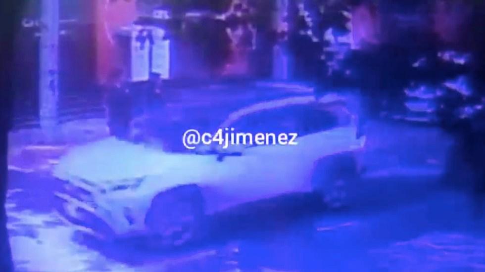 #Video Captan ataque armado donde murieron español y canadiense en la Ciudad de México - Miguel Hidalgo disparos ataque armado