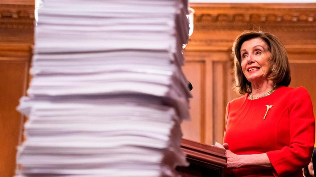 Pelosi invita a Donald Trump a presentar informe de gobierno en febrero - Nancy Pelosi. Foto de EFE