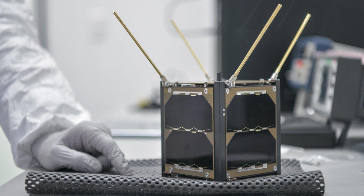 Lanzan con éxito el nanosatélite mexicano AztechSat-1 desde Cabo Cañaveral