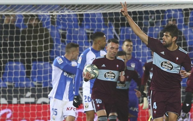 #Video Néstor Araujo anota en derrota del Celta ante Leganés - Néstor Araujo gol Celta de Vigo Leganés
