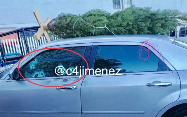Acribillan a padre de familia al regresar de comprar árbol de Navidad - Padre de familia acribillado en Iztacalco. Foto de @c4jimenez