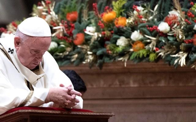 """Dios ama a cada hombre, """"incluso al peor""""; asegura el papa Francisco - Papa Francisco Misa Gallo Roma"""
