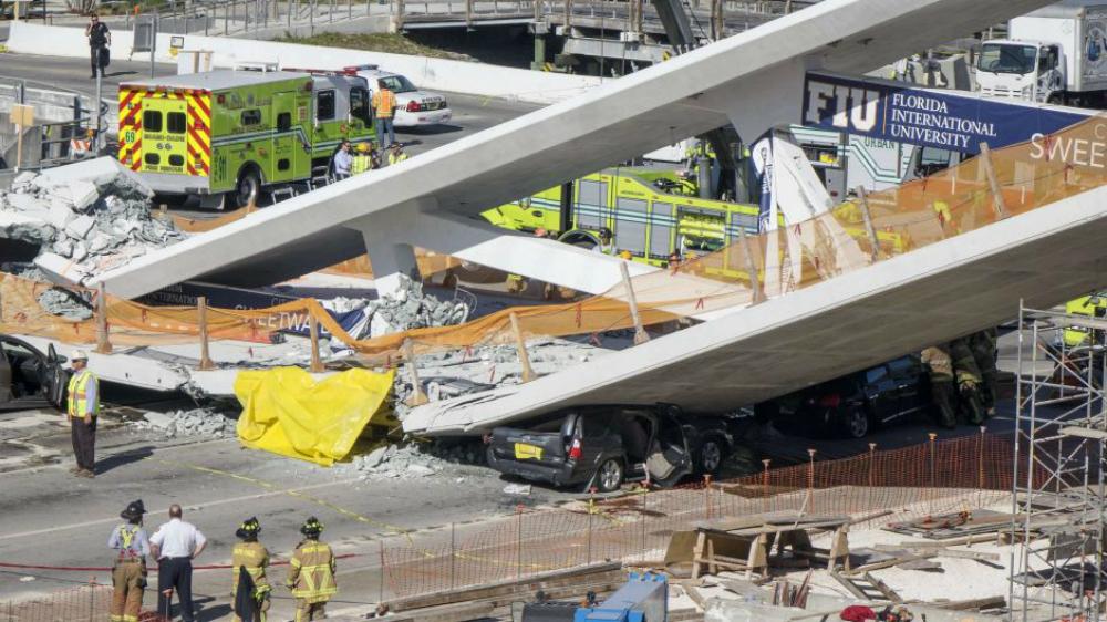 Familias de 16 víctimas de puente colapsado en Miami recibirán millonaria suma - Foto de EFE