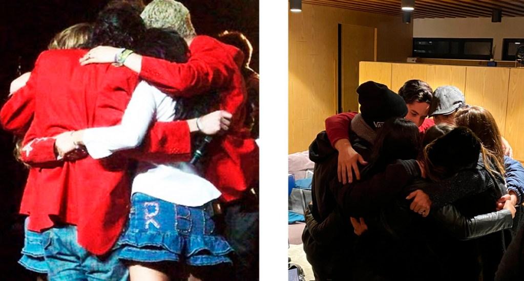 """""""Lo verdadero es eterno"""", RBD se reencuentra tras 11 años - RBD en 2008 y en 2019. Foto de @christiancha"""