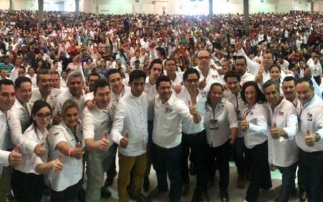 Así va el reporte de partidos políticos en formación de TResearch - Foto de Redes Sociales Progresistas