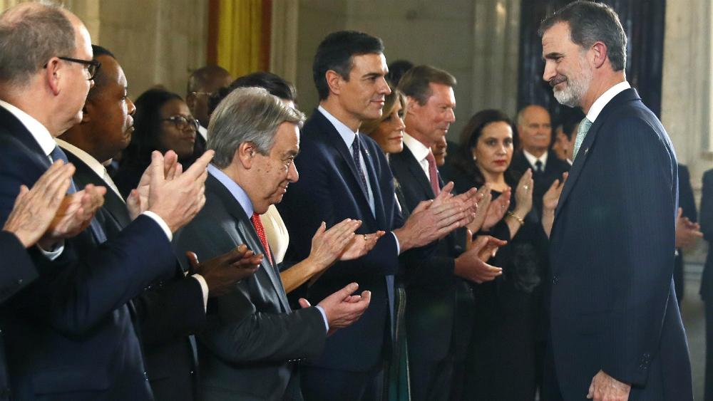 Pide Felipe VI actuar con liderazgo ante calentamiento global - Foto de EFE