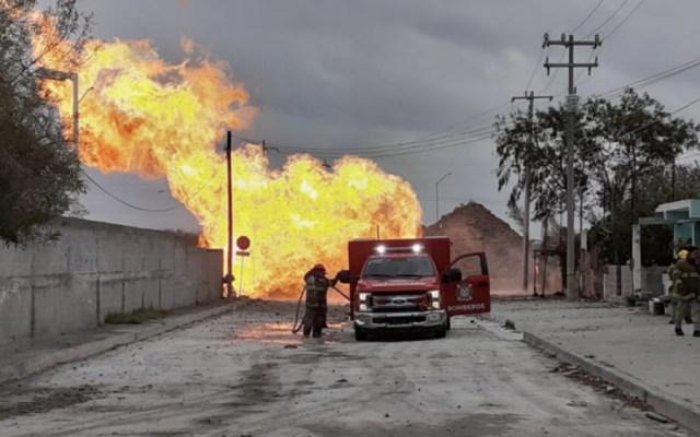 Extinguen incendio tras fuga de gas en Reynosa - Foto de @inforio