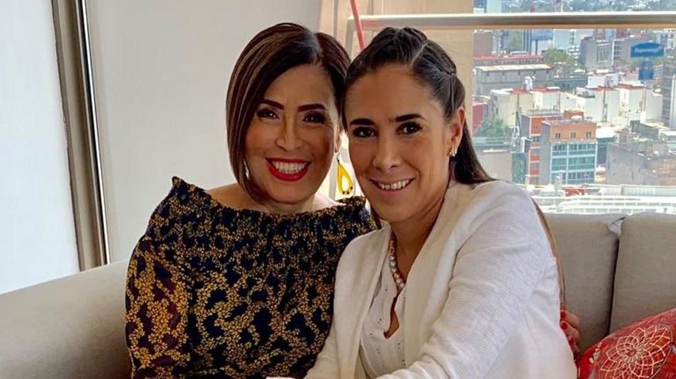 Hija de Rosario Robles pide audiencia con el fiscal Gertz Manero - Rosario Robles y Mariana Moguel. Foto de @Rosario_Robles_
