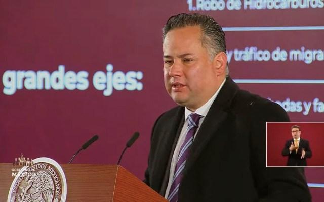 La UIF bloqueó en 2019 más de 5 mil mdp y 52 mdd a grupos delincuenciales - Santiago Nieto, titular de la Unidad de Inteligencia Financiera (UIF)
