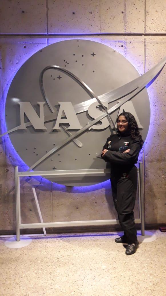 Mexicana participa en programa de la NASA