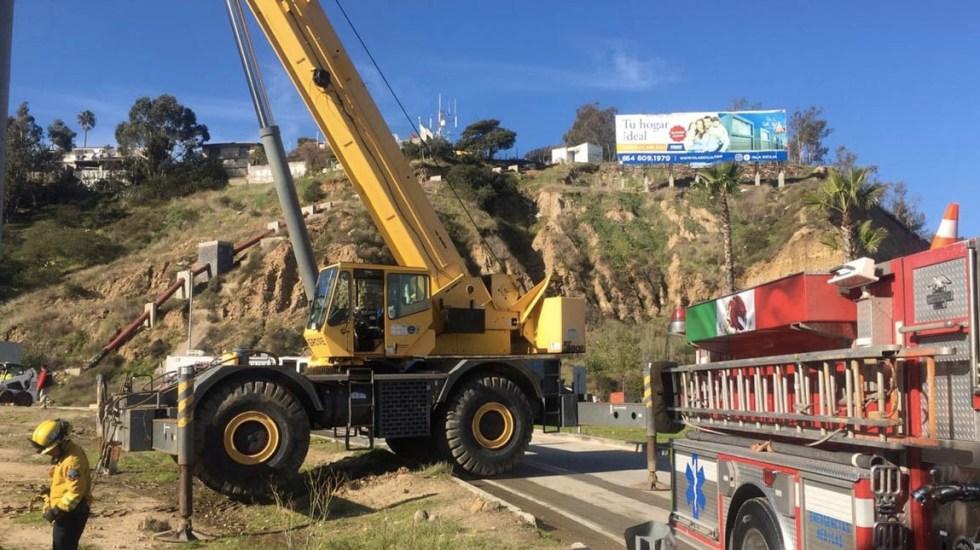Sigue la limpieza en Tijuana tras inundación - Tijuana limpieza Cañón del Matadero Baja California