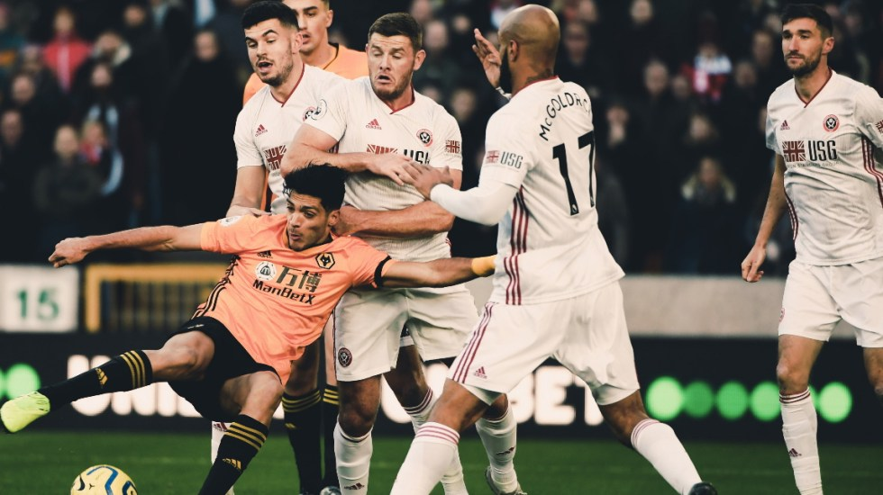 Asistencia de Raúl Jiménez logra el empate del Wolverhampton contra el Sheffield - Wolverhampton Raúl Jiménez Sheffield