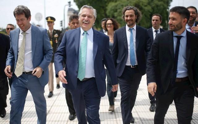 Fernández presenta su plan de fomento al empleo en Argentina - Alberto Fernández Argentina presidente