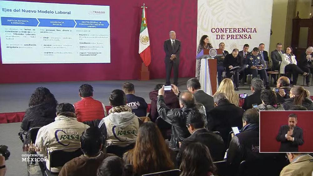 En octubre iniciará primera etapa de implementación de Reforma Laboral, afirma Alcalde - En octubre iniciará primera etapa de implementación de Reforma Laboral, afirma Alcalde