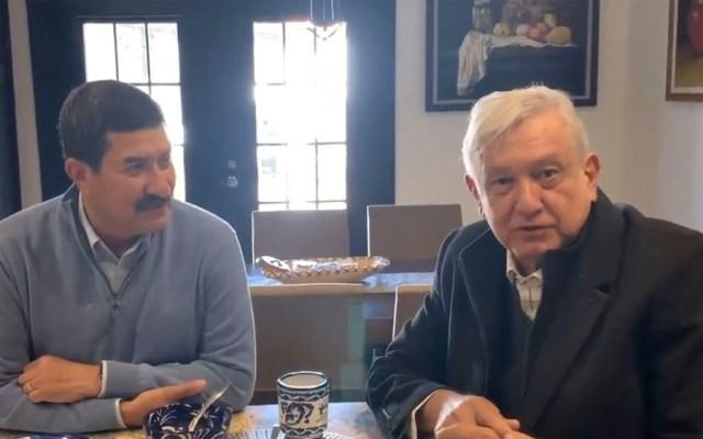 López Obrador se reúne en Ciudad Juárez con Javier Corral - La patria es primero, afirma AMLO durante reunión con Corral