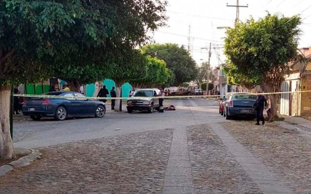 López Obrador admite que su gobierno no ha podido disminuir homicidios - Asesinato de dos personas en Celaya. Foto de Guanajuato Informa