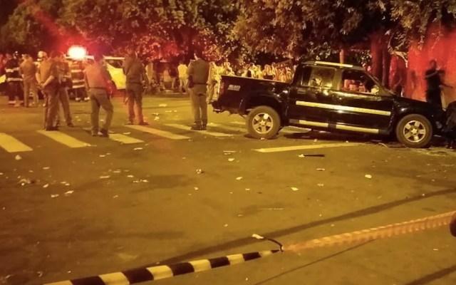 Hombre atropella a 17 personas tras haber discutido con su esposa en Brasil - Foto de Acontece Agora Br