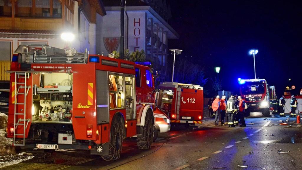 Mueren en Italia seis turistas alemanes en accidente - Atropello de turistas alemanes en Italia. Foto de FF Luttach