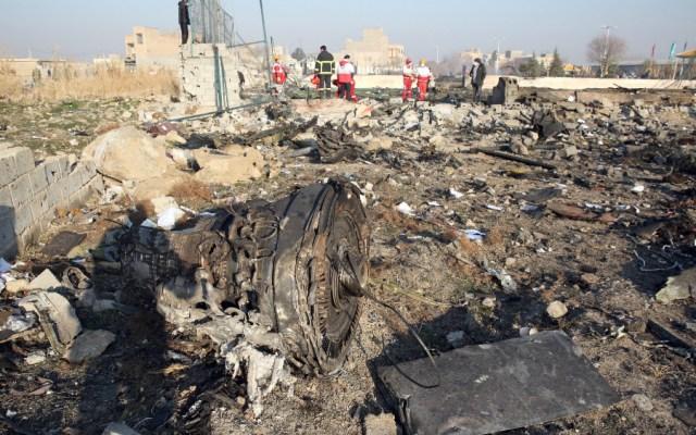 Francia descarga el audio de la cabina del vuelo derribado por Irán en enero - Foto EFE