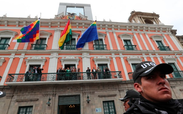 "Bolivia se libró de ""un destino como el de Venezuela"", afirma Áñez - Foto de EFE"