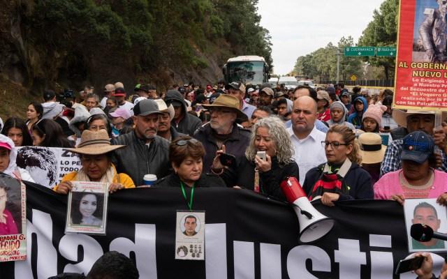 Caminata por la Verdad, la Justicia y la Paz arriba a la Ciudad de México - Foto de Notimex